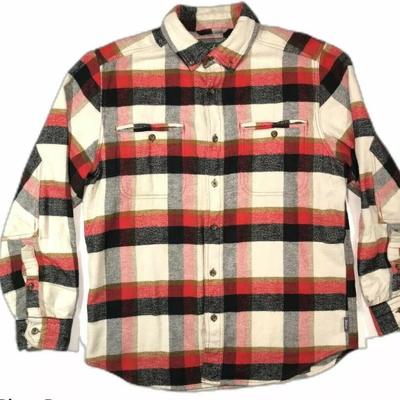 Woolrich Thick Flannel Mens Long Sleeve